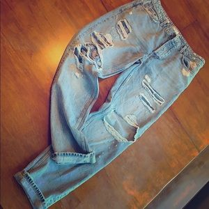 Topman buttonfly jeans.